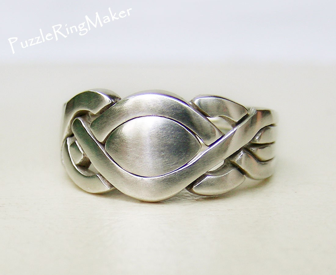 karmen unique puzzle rings by puzzleringmaker by