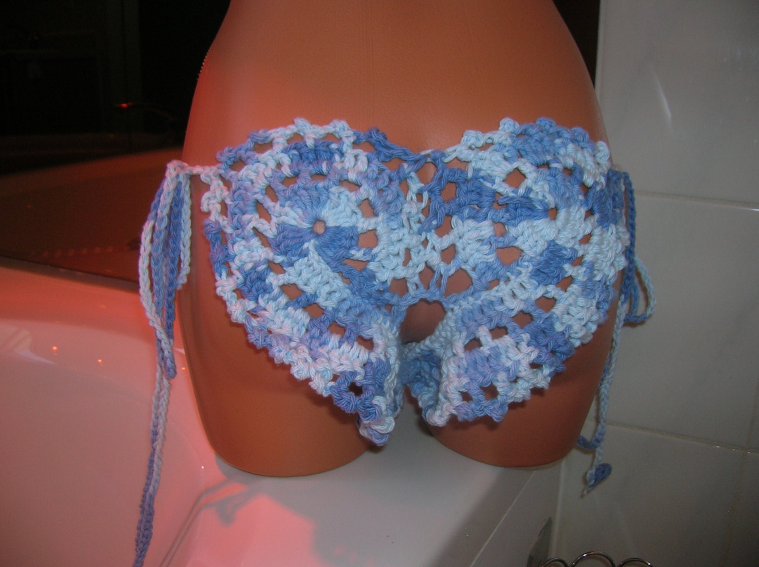 Free Crochet Patterns For Underwear : Crochet Lingerie submited images Pic2Fly