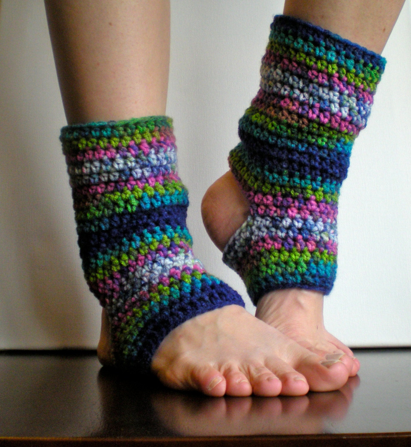 Crochet Patterns Leg Warmers : PATTERN: Short Warmers, Easy Crochet PDF, Leg Warmers, yoga socks ...
