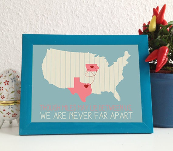 Wedding Gift For Distant Friend : ... distance, friendship, love, relationship, gift, christamas, wedding