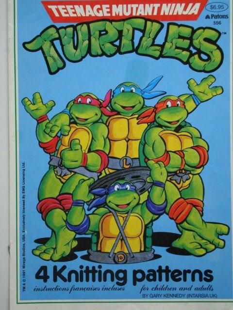 Tmnt Knitting Patterns : TMNT Teenage Mutant Ninja Turtles 4 Knitting by ...