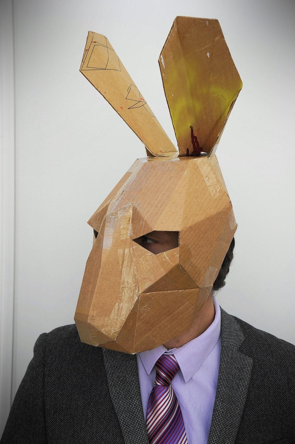 black mask своими руками с пва