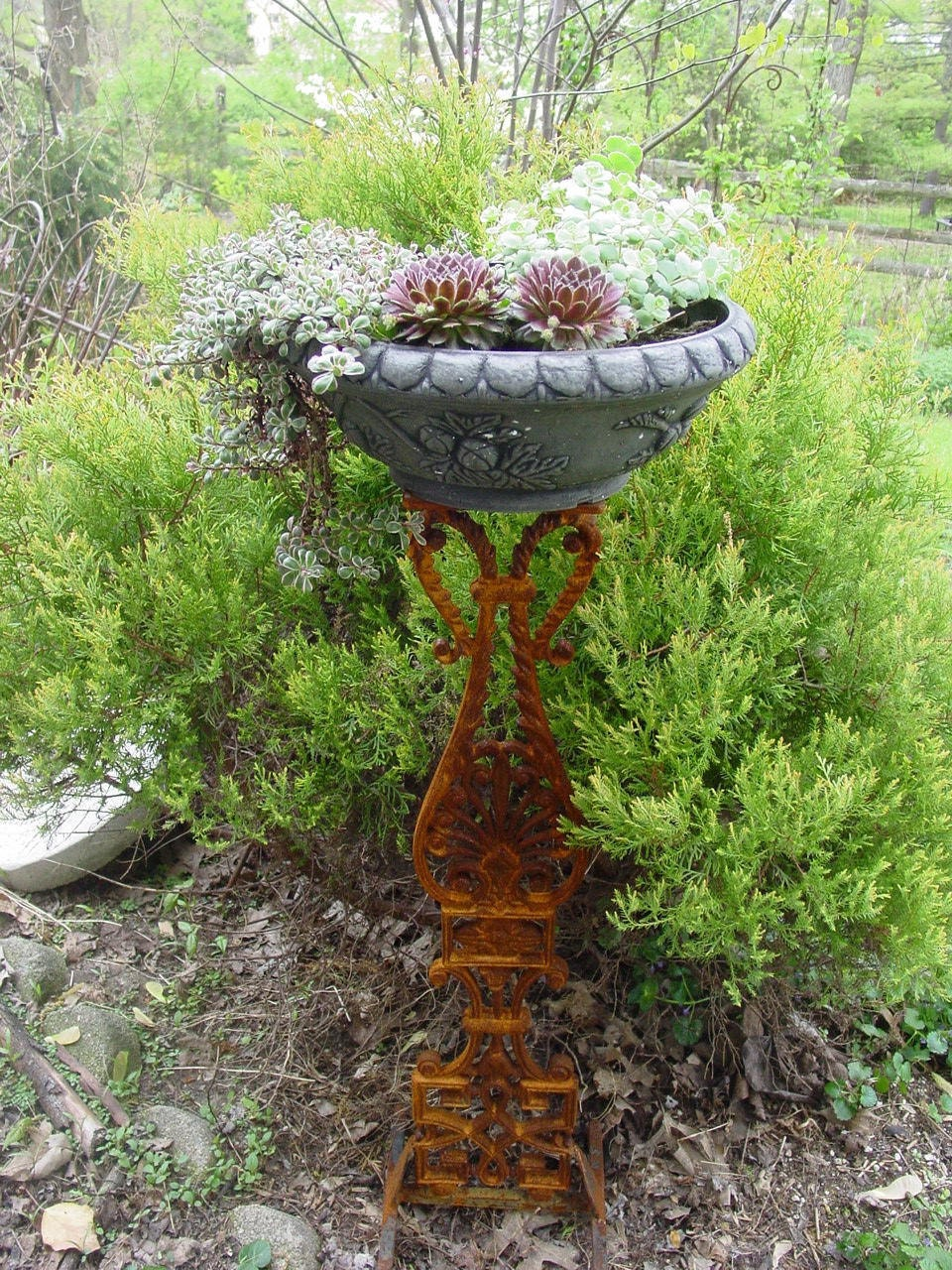 Greco-Anthemiom Plant Stand