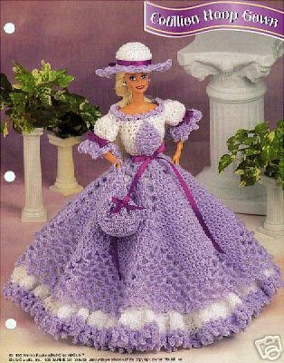 CROCHET BARBIE DOLL CLOTHS PATTERNS | FREE CROCHET PATTERNS
