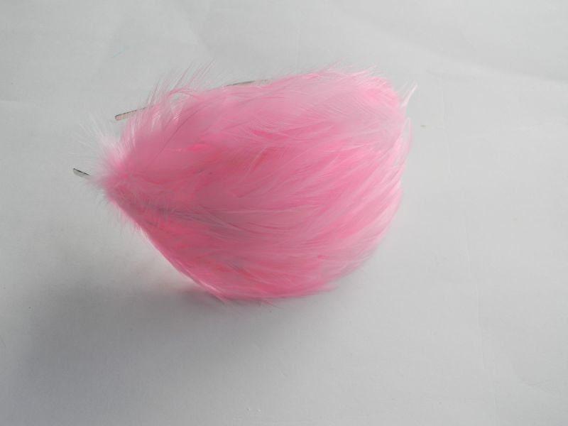 Light Pink Feather Headband - PoisonedCreations