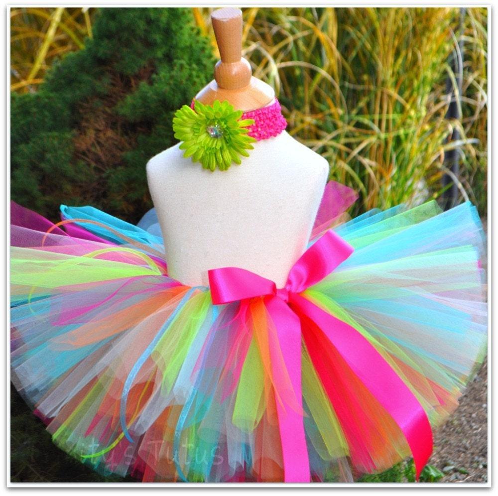 Туту юбка для девочки своими руками