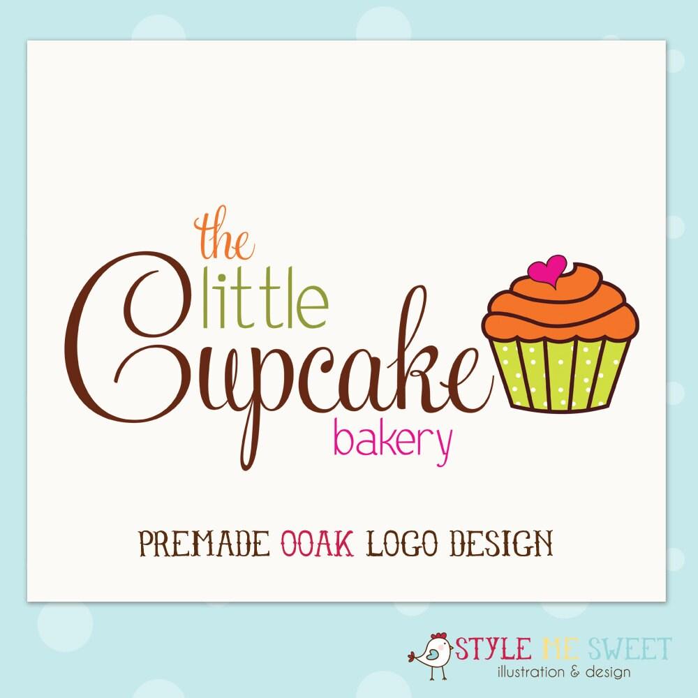 Cute Cupcake Logos Cute Cupcake Log