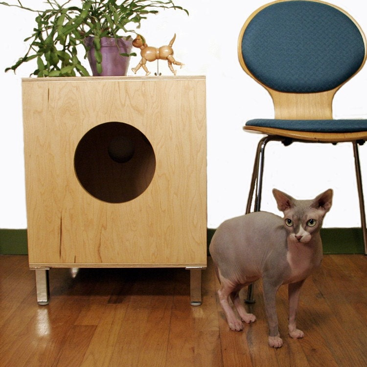 Unavailable listing on etsy - Modern kitty litter box ...