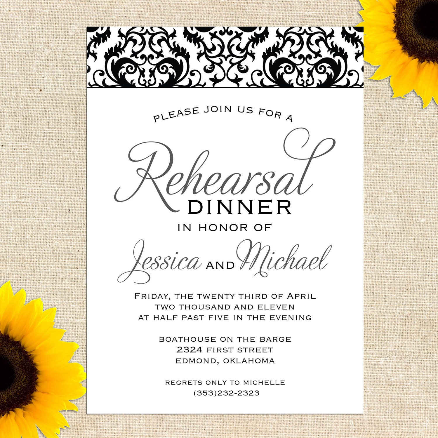 It's just a graphic of Superb Printable Rehearsal Dinner Invitations