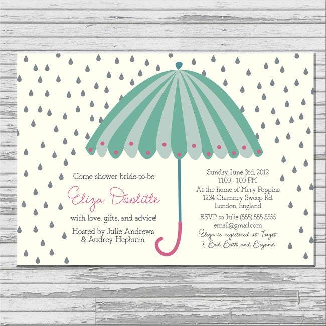Printable Bridal Shower Invitation as good invitations template