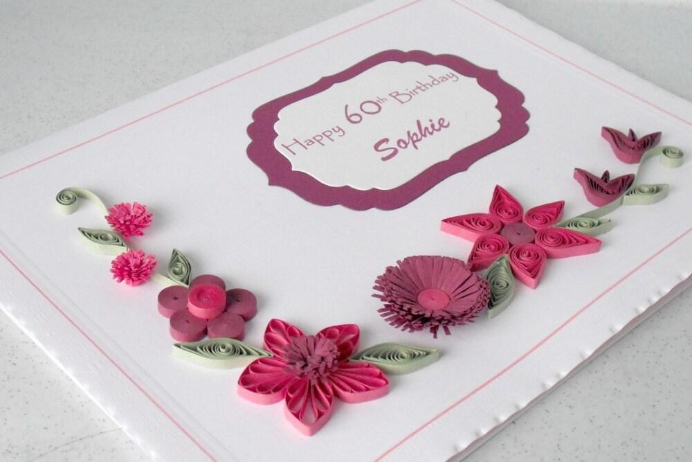 Квиллинг для открыток на день рождения 105