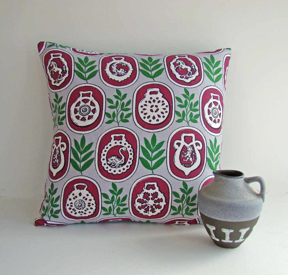 Vintage Fabric Cushion Cover - AboutThePlace
