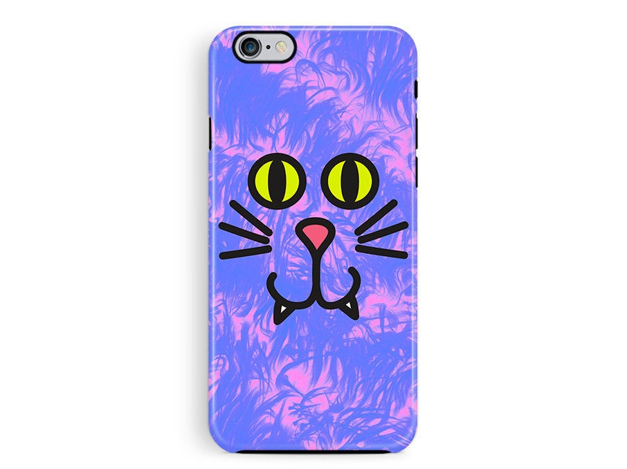Cat phone Case Protective Phone case protective iPhone 6 case iPhone 5 protective case Cat iPhone 6 Case Cat Lover Gift Cute Phone Case