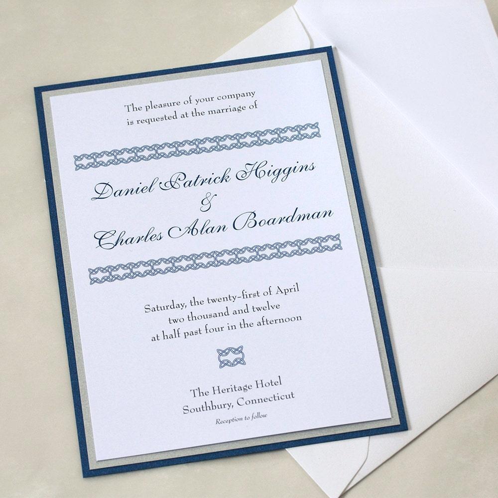 Wedding invitation wording samples the knot matik for for The knot wedding invitation language
