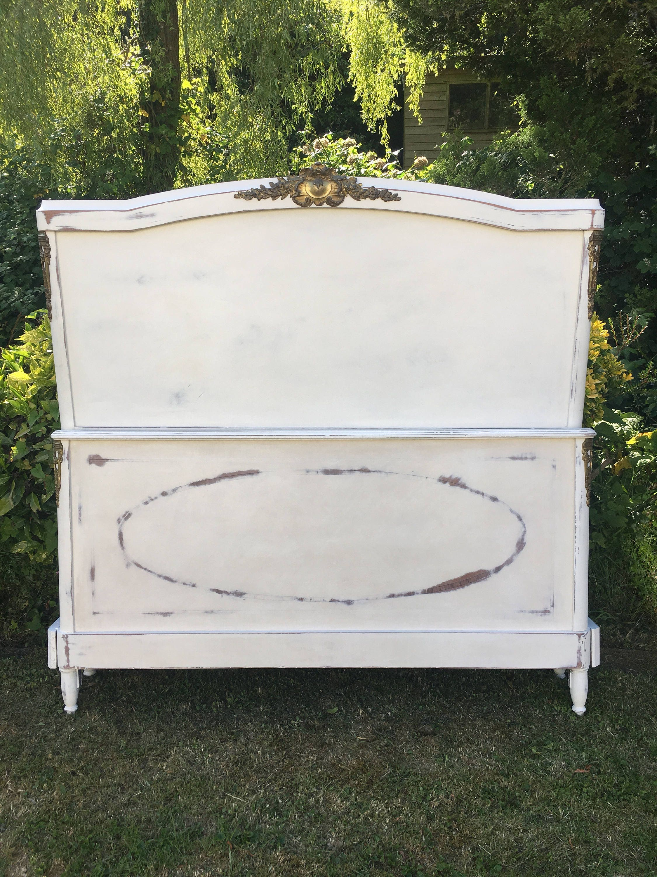 Beautiful french king size bed frame