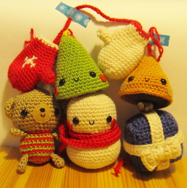 Amigurumi Crochet Christmas Ornaments : Seriously Cute Crochet I ebook 25 amigurumi crochet by ...