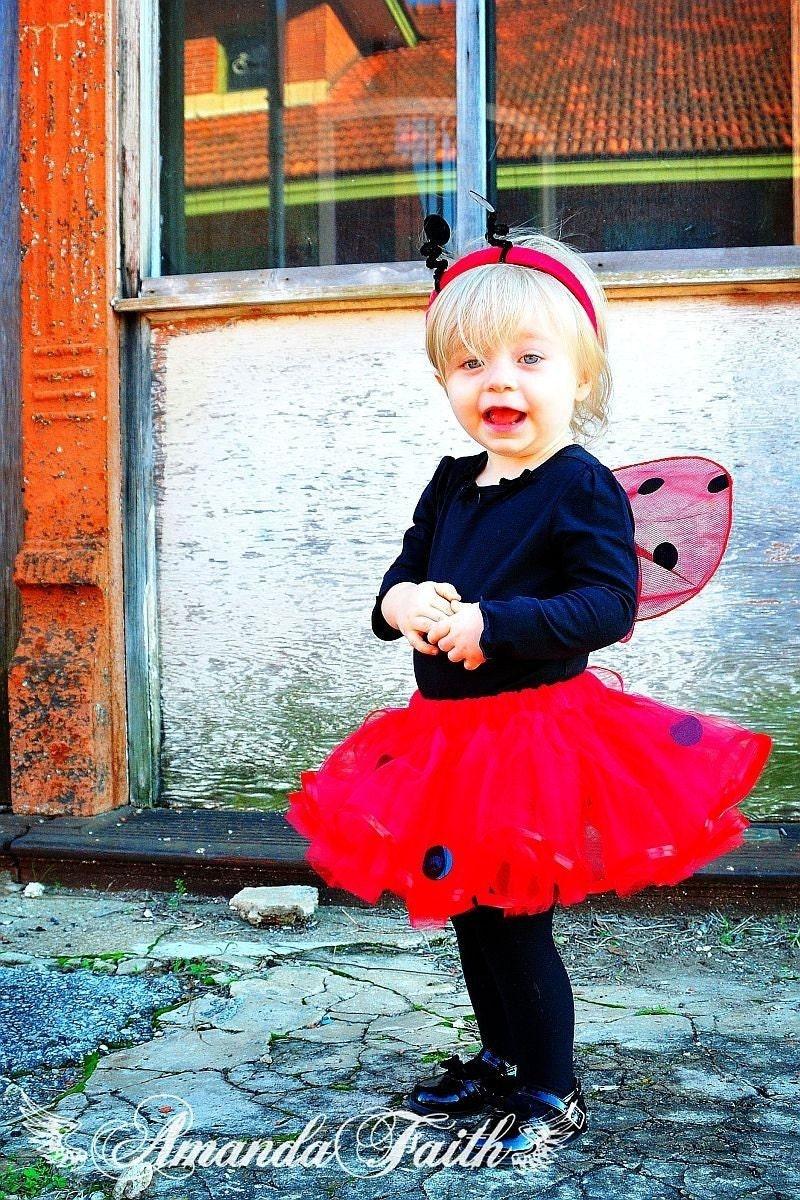 Red Ladybug LOVE BUG Tutu - whimsywendy