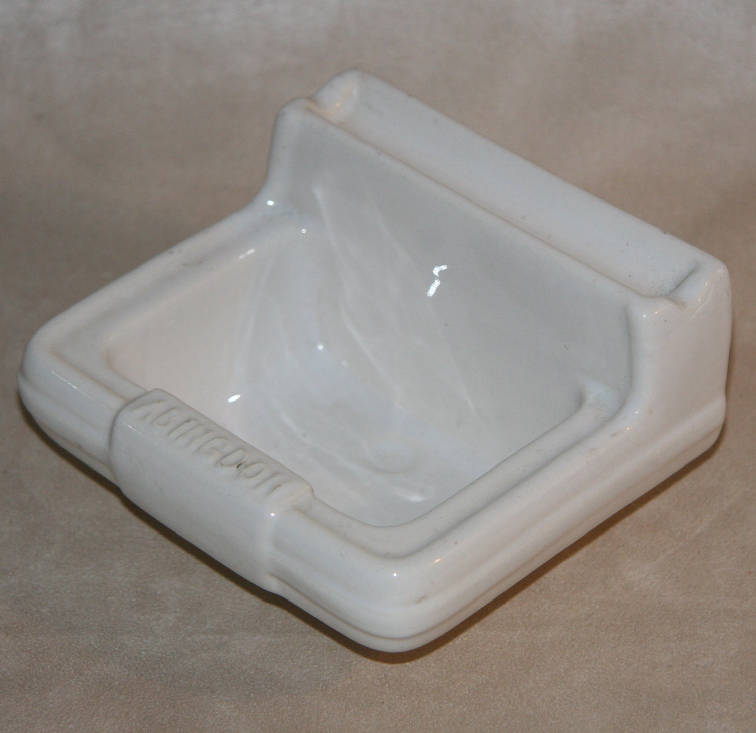 Items similar to 1940s porcelain bathroom sink promo promotion abingdon sinks streamlined