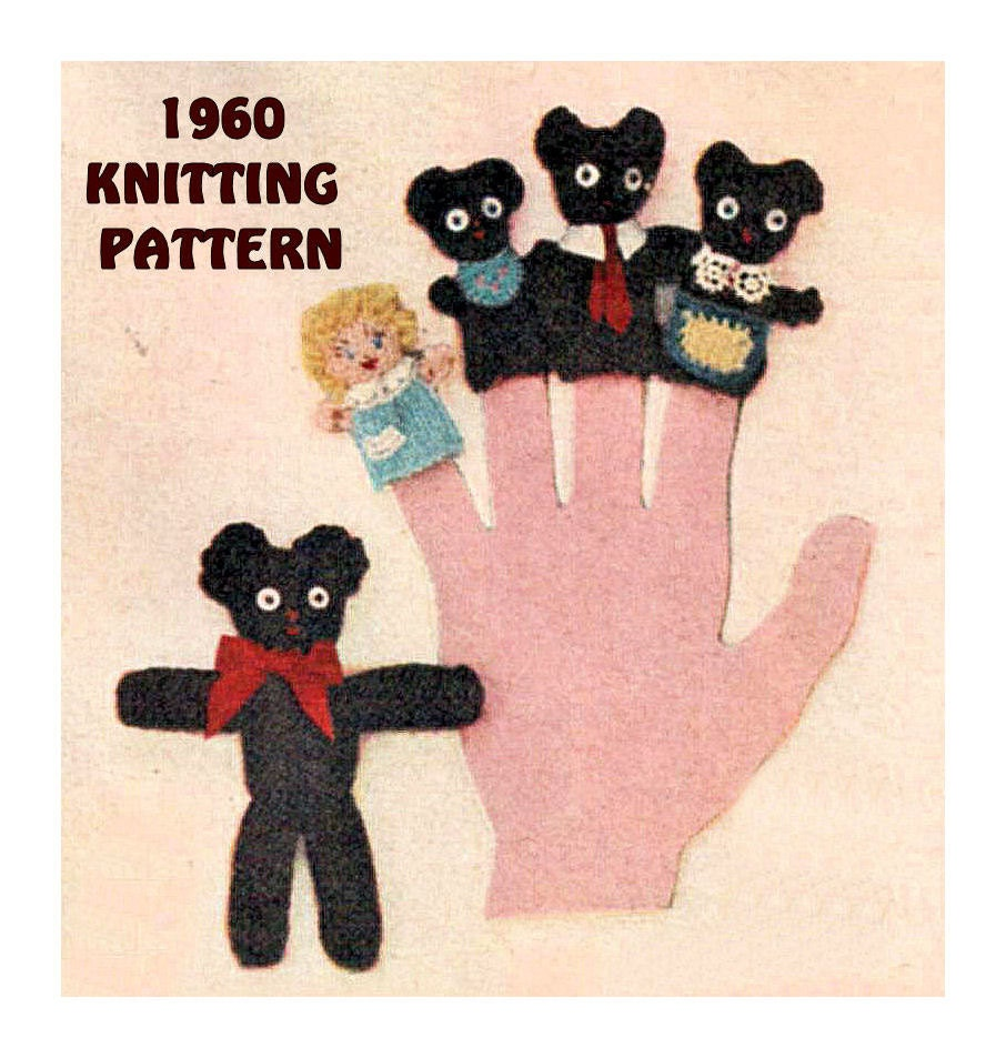 Instant Download PDF Vintage 1960s Knitting by YesterdaysMagic