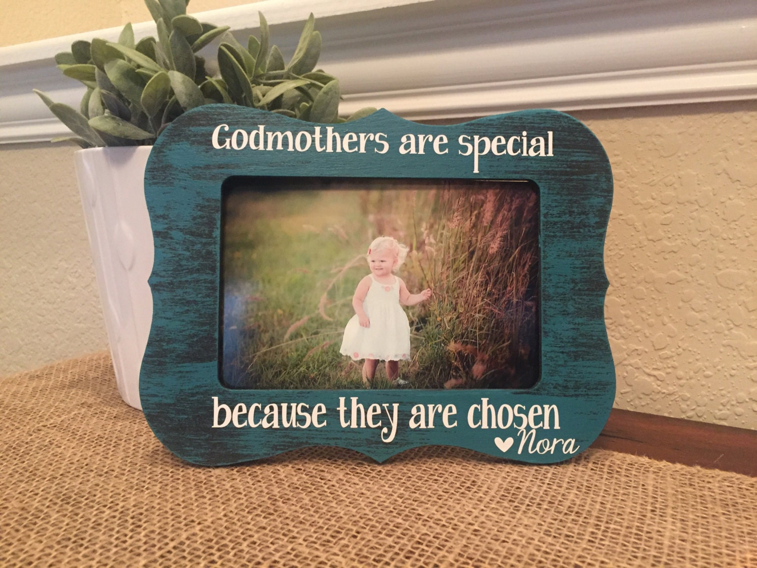 godmother picture frame  eBay