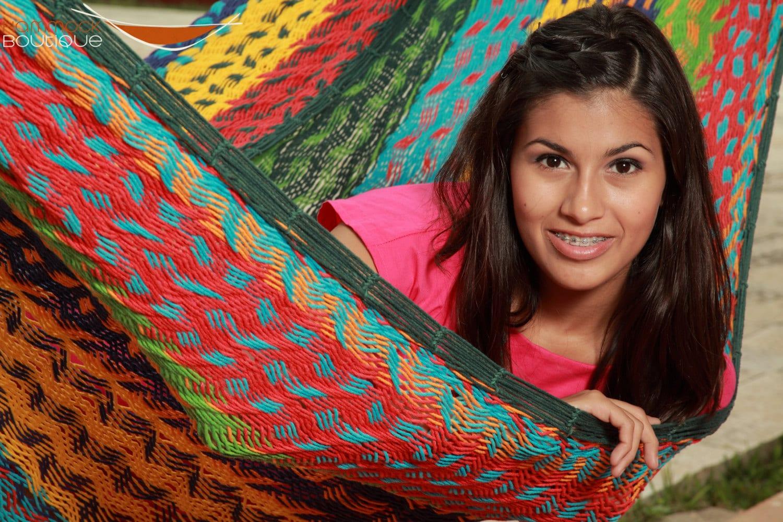玛雅吊床图案编织示例