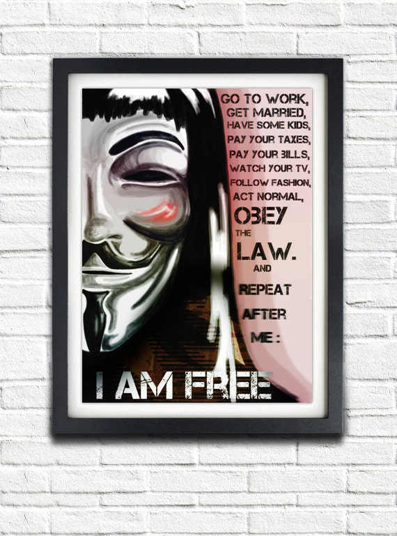 V For Vendetta Book Quotes. QuotesGram