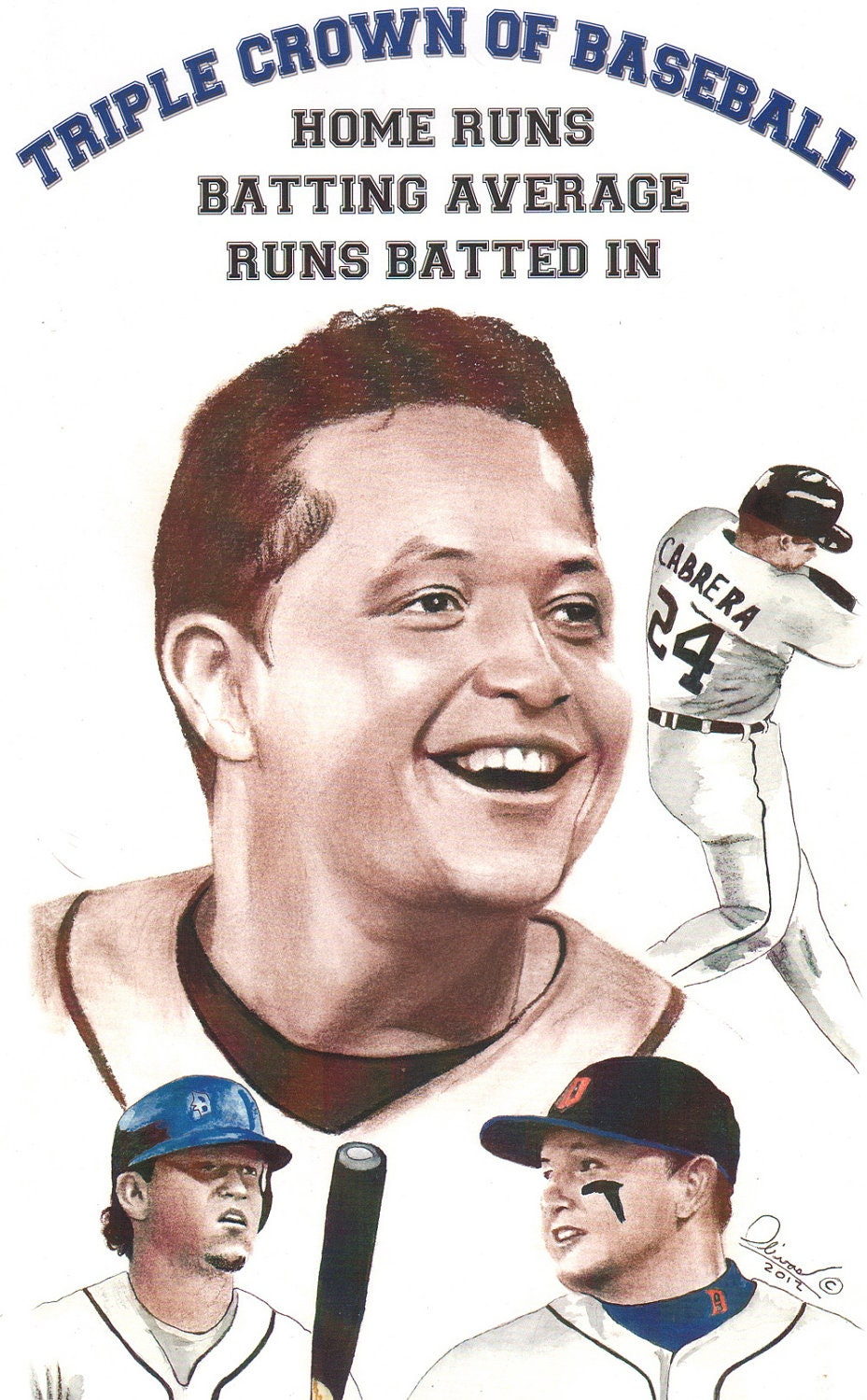 miguel cabrera coloring pages - photo#6