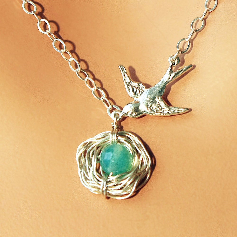 Mother 39 s day gift sterling silver tiffany blue robin by for New mom jewelry tiffany