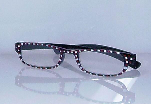 nautical navy handpainted reading glasses white by starality