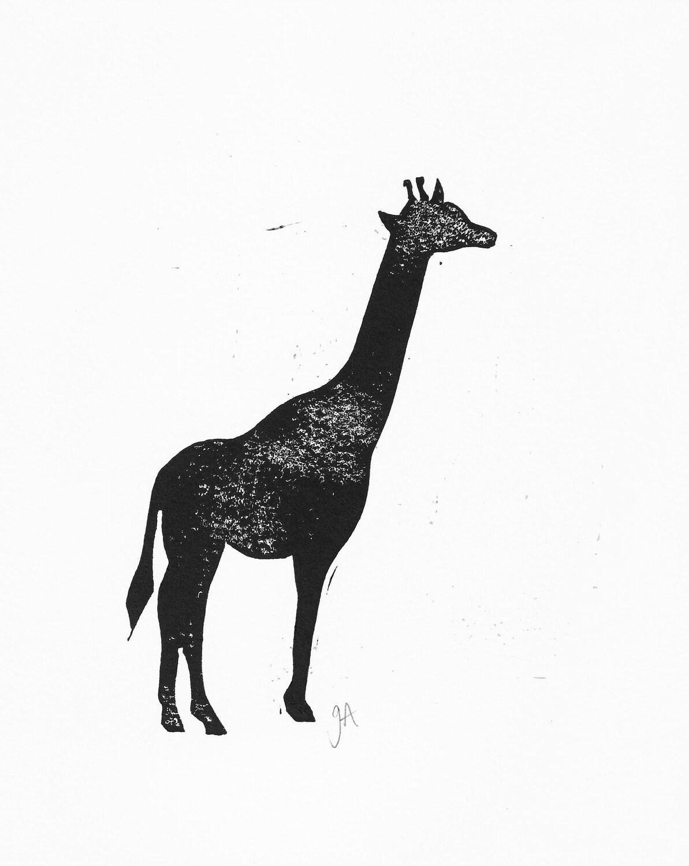 Giraffe Silhouette Giraffe Head Silhouette Clip