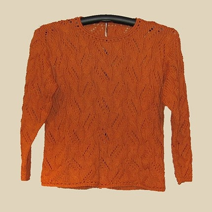 Sierra Cable Lace Pullover Knitting Pattern PDF by FiberWild