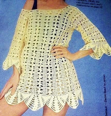 Cover-Up Skirt - Girlie's Crochet