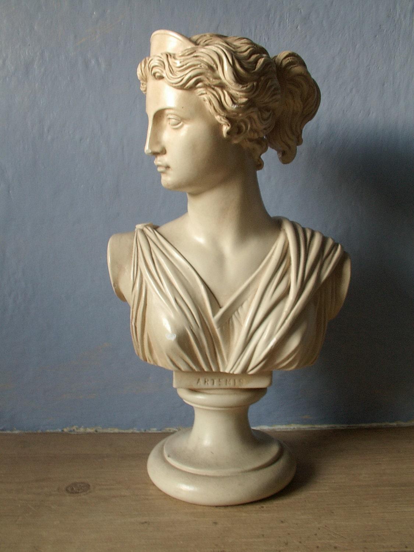 Mid century decor 1950 39 s bust figurine artemis by for Artemis decoration