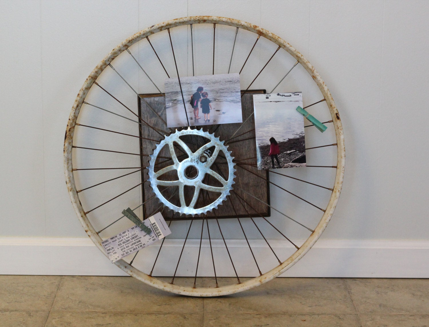 Unavailable listing on etsy for Bicycle wheel wall art