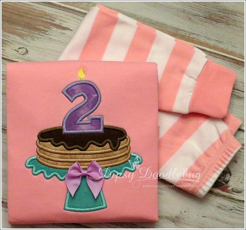 Pancakes and Pajamas Birthday Party Pajamas for Girls or Boys - DipsyDoodlebug
