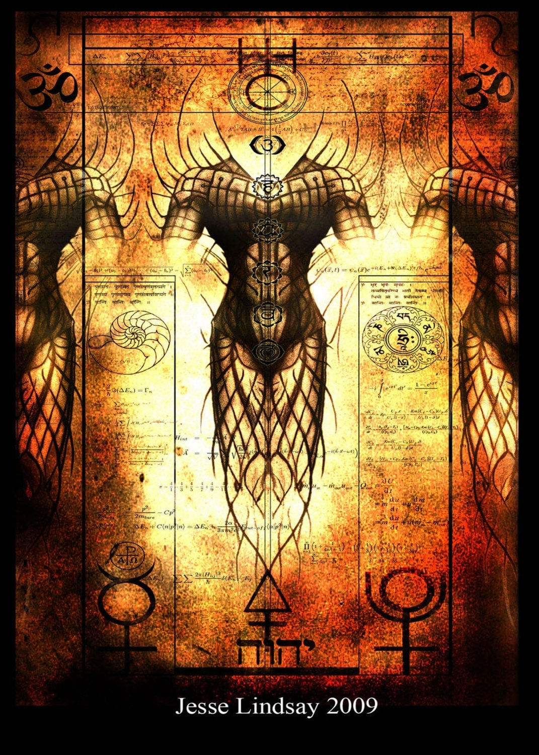 Alchemical Reaction 11 x 17 Inch Print by Jesse Lindsay - jesselindsay