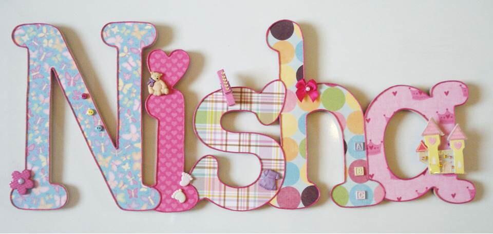 Letras decoradas para nombres - Imagui