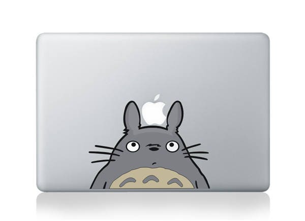 Macbook 13 inch decal sticker Totoro Colour Apple art for Apple Laptop