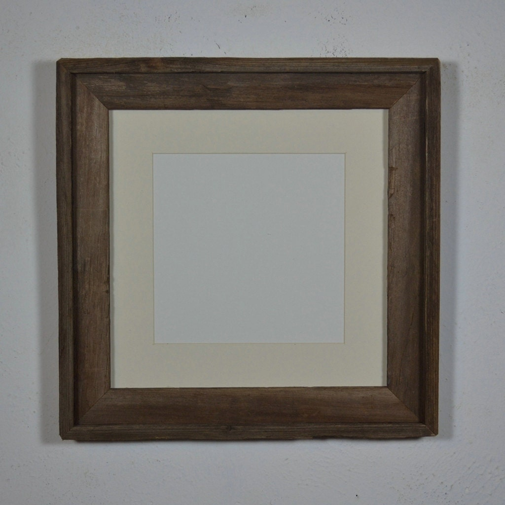 12x12 picture frame with at for 8x8 or 10x10 by barnwood4u on etsy. Black Bedroom Furniture Sets. Home Design Ideas