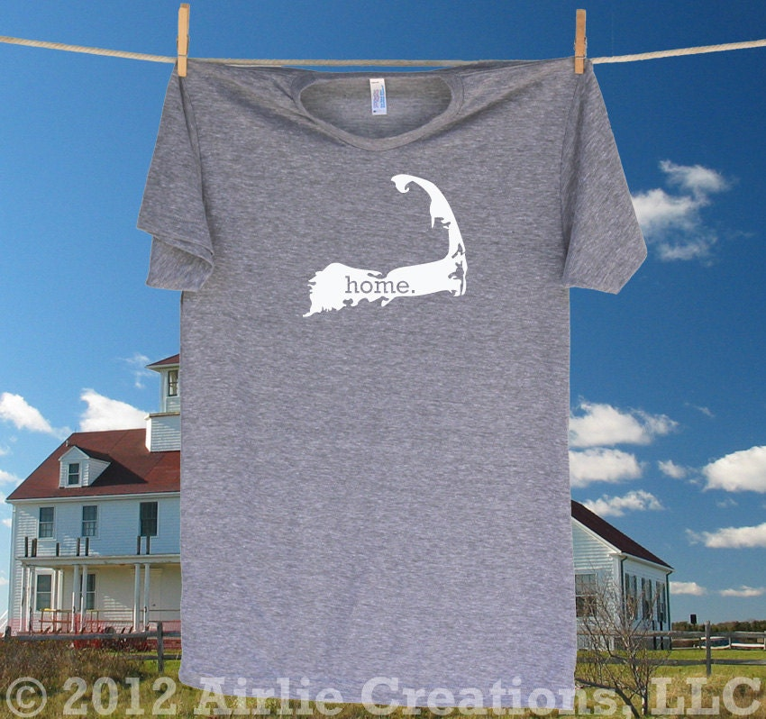 Cape Cod Home State Tee Shirt T Shirt Sizes S Md By