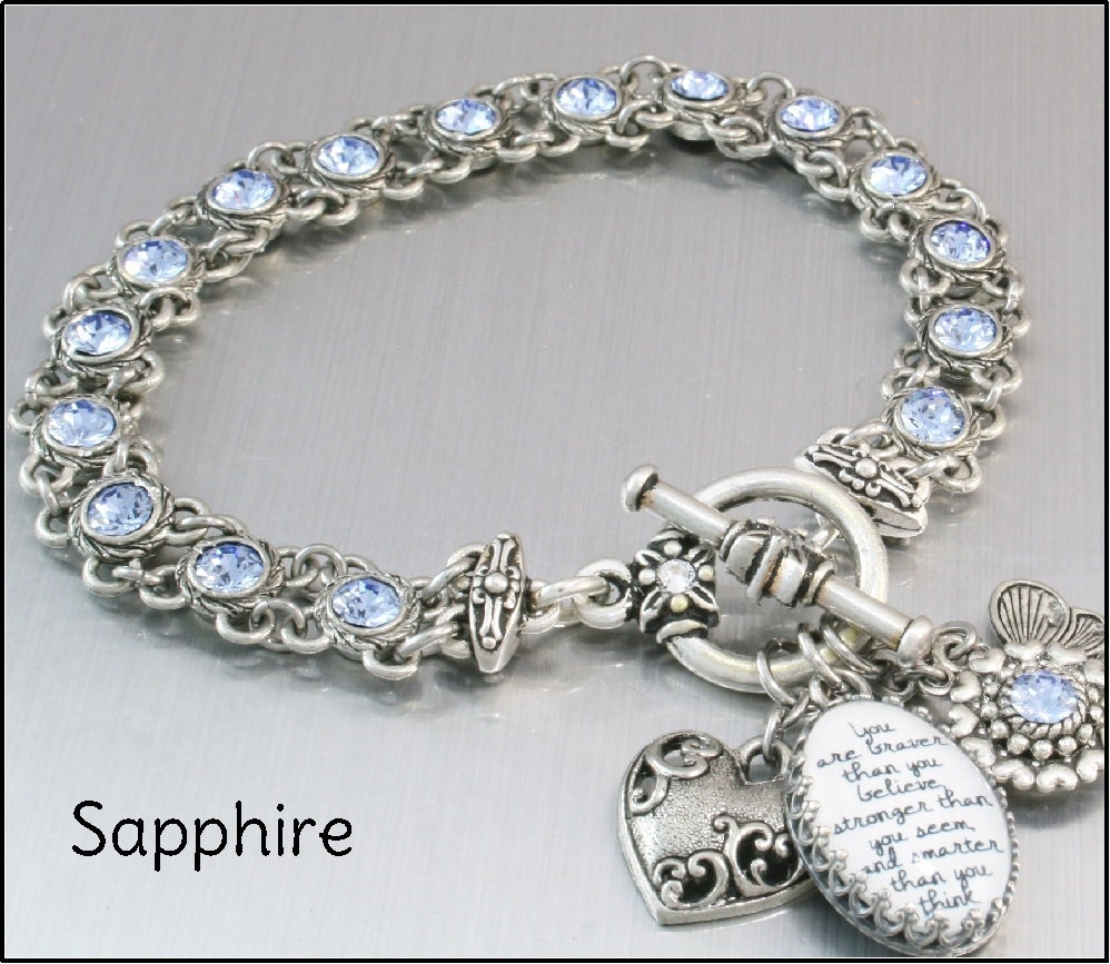 Design Your Own Custom Bangle Charm Bracelet Pick Your Charms: Personalized Charm Bracelet Tennis Charm By BlackberryDesigns