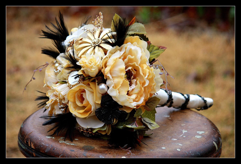 Rustic Wedding Bridal Bouquet Ready To Ship By Rusticcreek