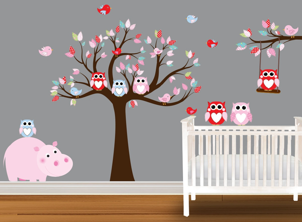 ... Owl Wall Decals on Wanelo. Personalized ...