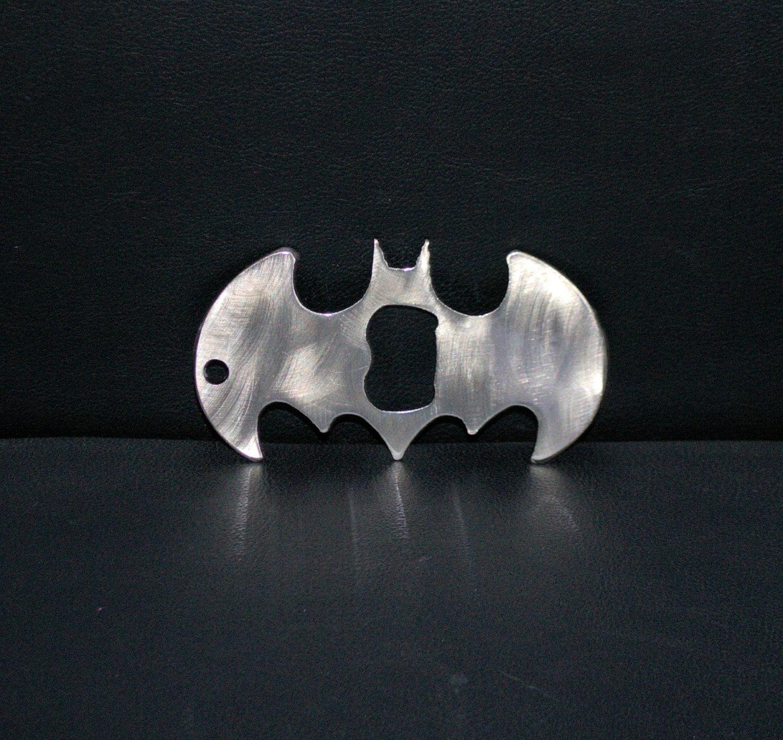 batman key chain bottle opener batarang old by architaradesign. Black Bedroom Furniture Sets. Home Design Ideas