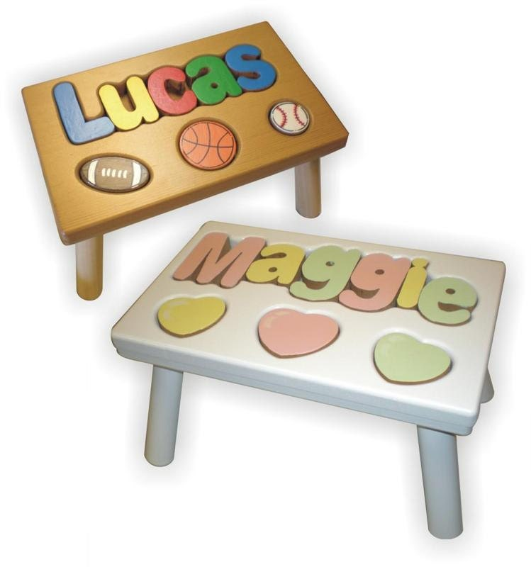 Childrens Personalized Step Stools With By Kiddieanticsbycyndi