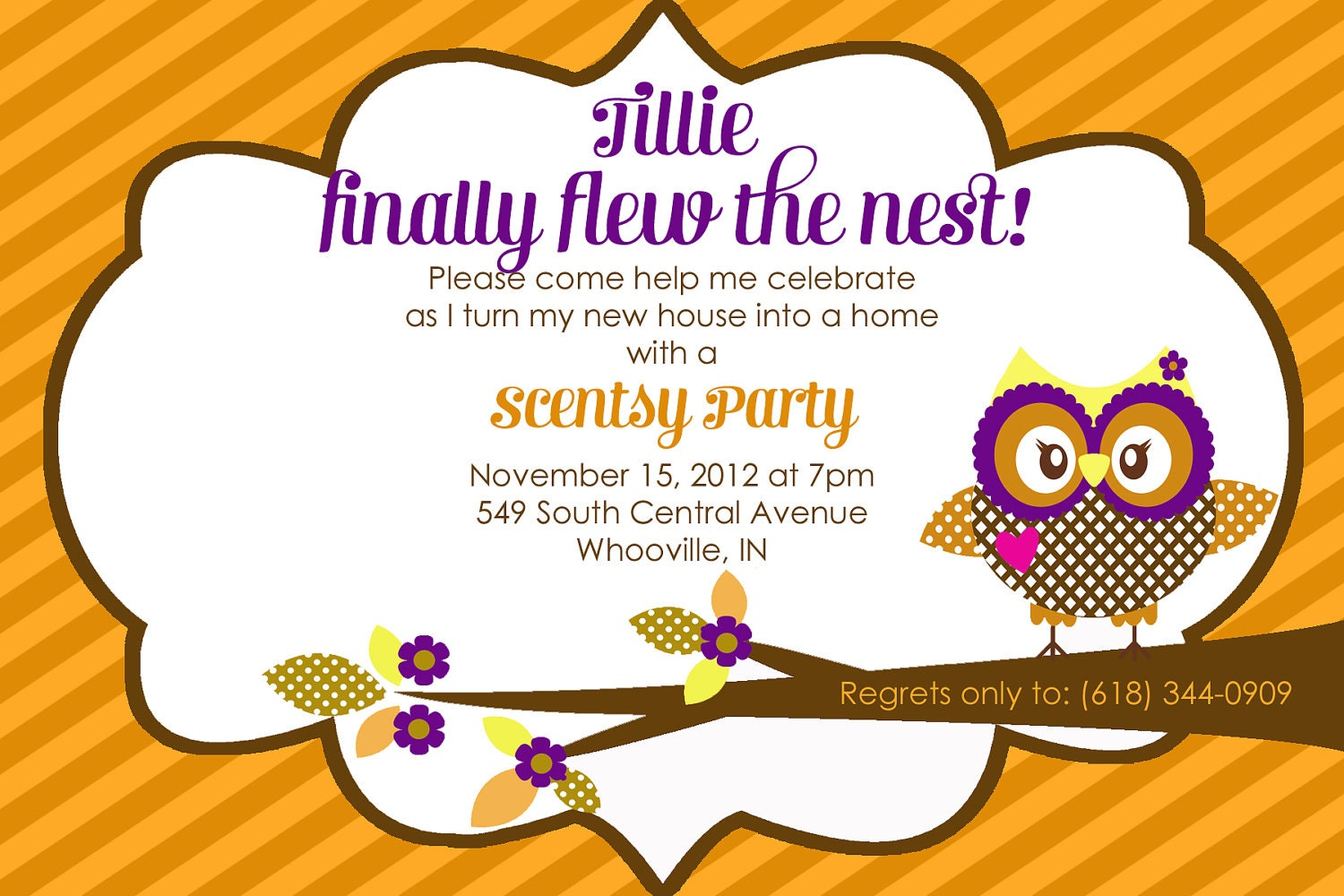 Watch more like Scentsy Catalog Party Ideas Invitation – Invitation for Housewarming Party