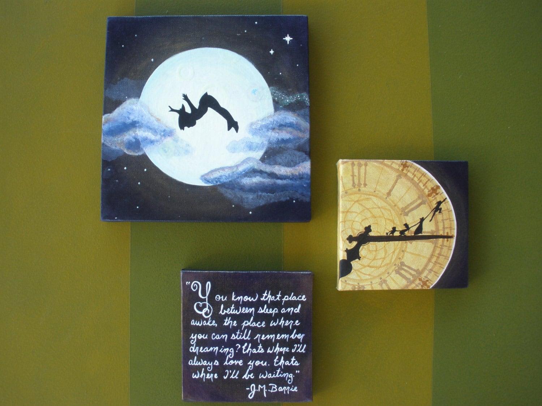 Peter Pan Clock Tower Peter Pan Clock Tower Moon