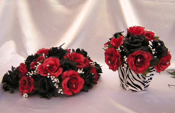 Jeanines blog april 2012 7pcs red zebra print wedding vase large centerpieces alter table pew zebra wedding decorations junglespirit Choice Image