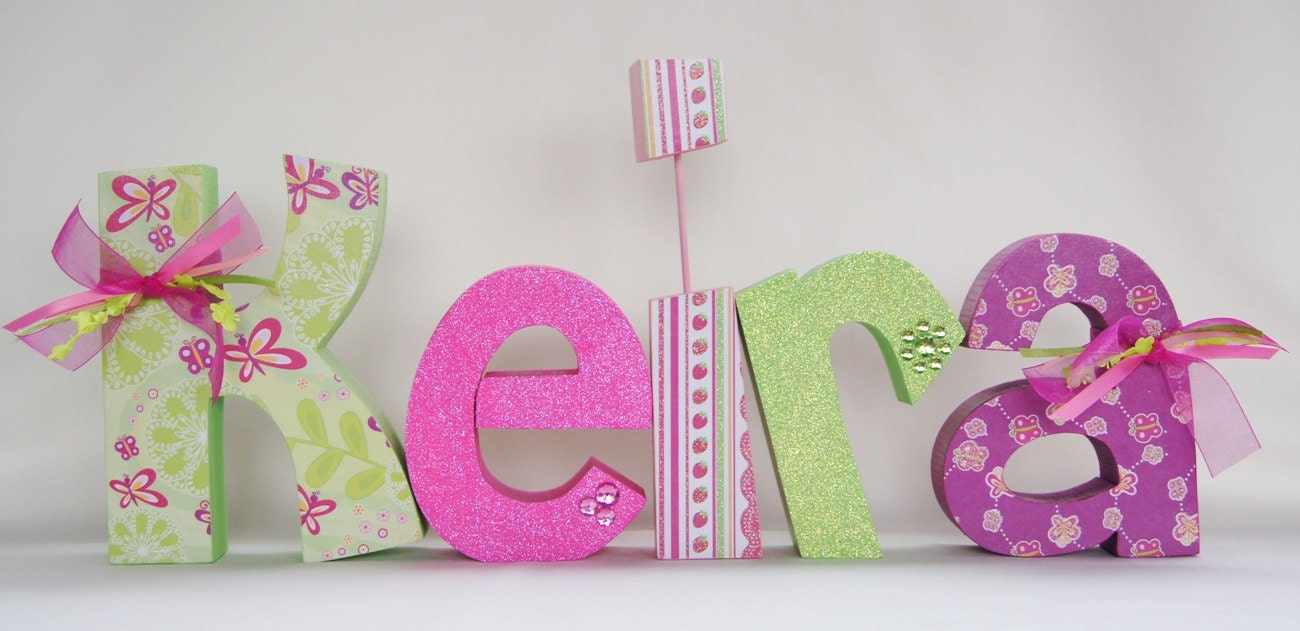 to baby shower decoration baby name letters nursery letters baby
