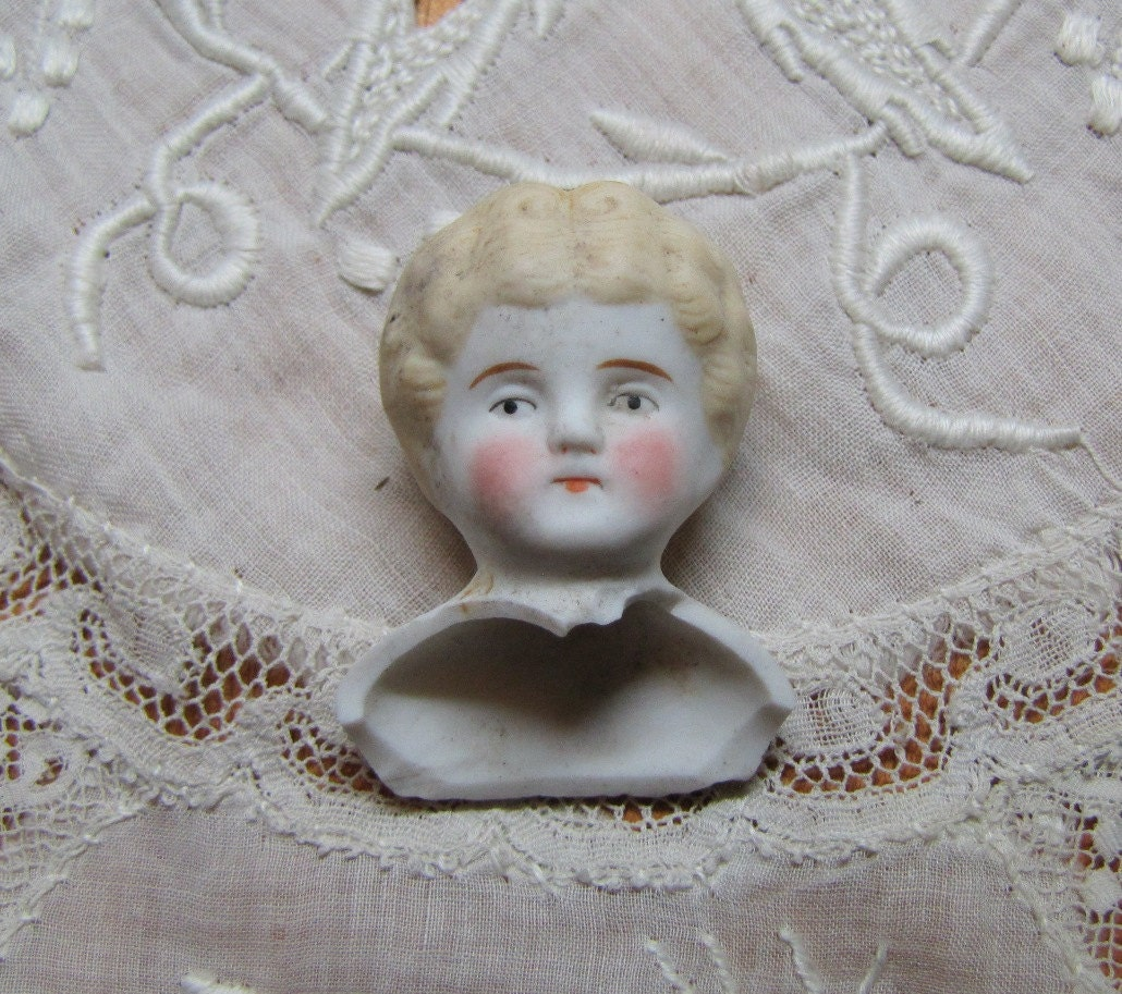 Bisque doll head antique from germany